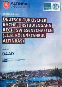 Köln ve Altınbaş Üniversitelerinin Türk-Alman Hukuk Lisans Programı ilk mezunlarını verdi